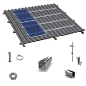 Системы крепления солнечных панелей